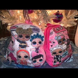 New Kids LOL Backpacks soft material BOUTIQUE CUTE